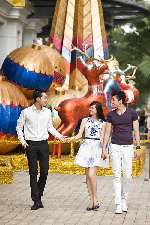 Bạn trẻ Sài Gòn khoe phong cách Giáng sinh - 9