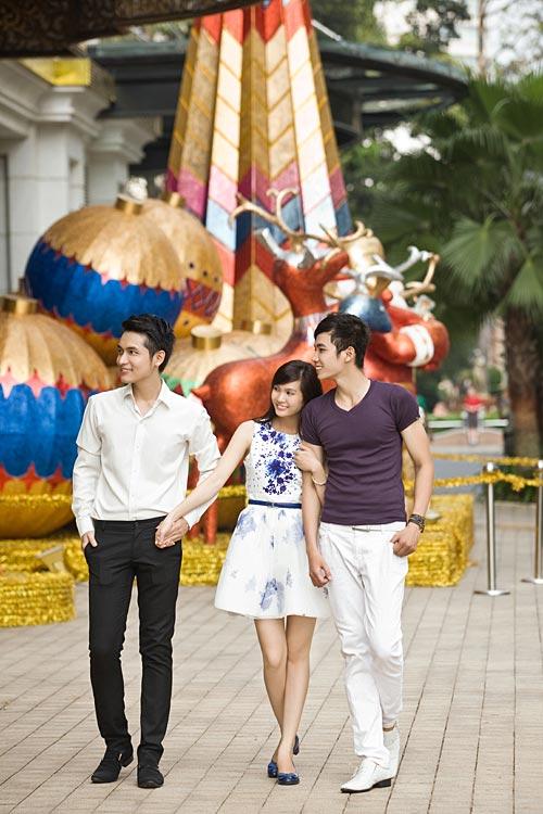 Bạn trẻ Sài Gòn khoe phong cách Giáng sinh - 6