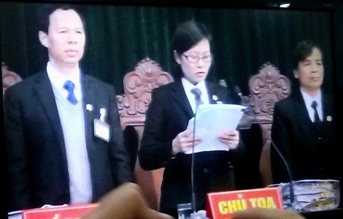 Đang tuyên án Dương Chí Dũng - 2