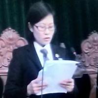 Đang tuyên án Dương Chí Dũng