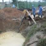 Tin tức trong ngày - HN: Lại vỡ đường ống, 70.000 hộ dân mất nước