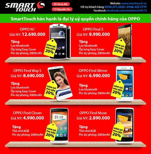 1387250372 smarttouch khuyen mai  3  Smarttouch khuyến mãi lớn mùa Noel