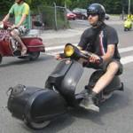 Ô tô - Xe máy - Lạ lẫm Vespa dẫn động bánh.... trước