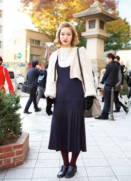 Váy dài kỳ thú trên đường phố Tokyo - 1