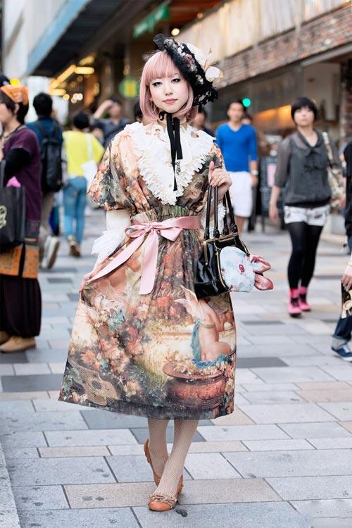 Váy dài kỳ thú trên đường phố Tokyo - 5