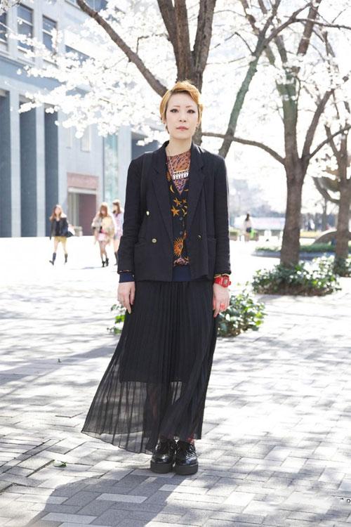 Váy dài kỳ thú trên đường phố Tokyo - 10