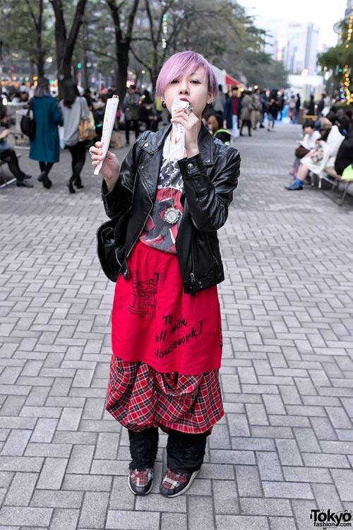 Váy dài kỳ thú trên đường phố Tokyo - 15