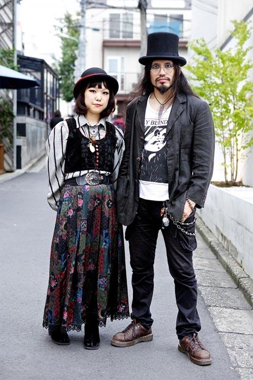 Váy dài kỳ thú trên đường phố Tokyo - 16