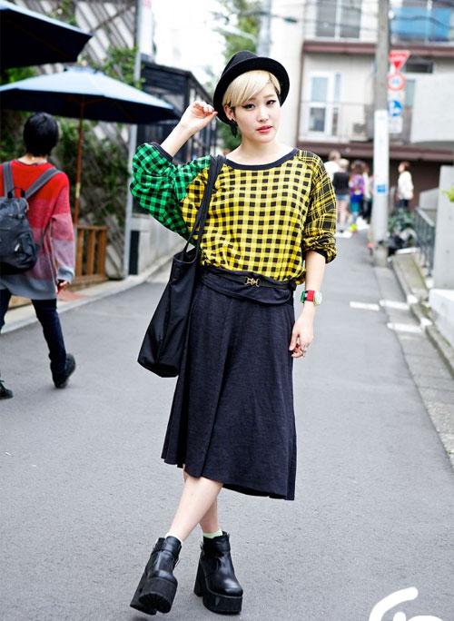 Váy dài kỳ thú trên đường phố Tokyo - 7