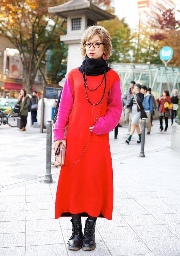 Váy dài kỳ thú trên đường phố Tokyo - 8