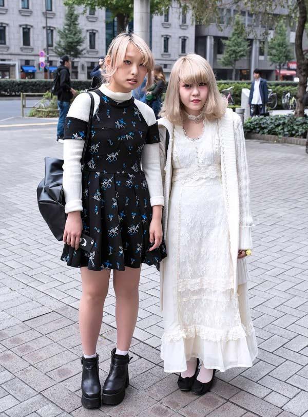 Váy dài kỳ thú trên đường phố Tokyo - 13