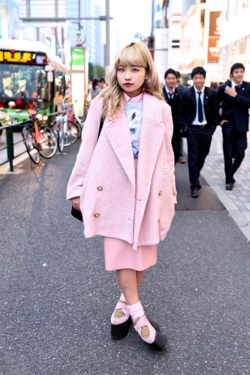 Váy dài kỳ thú trên đường phố Tokyo - 3