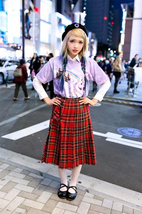Váy dài kỳ thú trên đường phố Tokyo - 11
