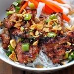 Ẩm thực - Tự làm chả thịt nướng ăn với bún