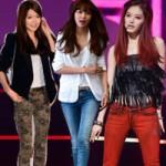 """Thời trang - Sao Hàn mặc jeans khoe """"chân kiếm Nhật"""""""