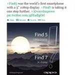 """Thời trang Hi-tech - OPPO xác nhận Find 7 màn hình siêu """"khủng"""" 2K"""