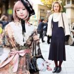 Thời trang - Váy dài kỳ thú trên đường phố Tokyo
