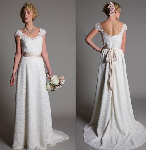 Khảo giá váy cưới ren yêu kiều - 10