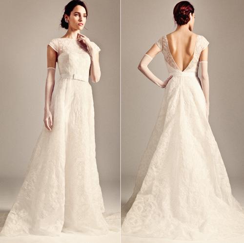 Khảo giá váy cưới ren yêu kiều - 1