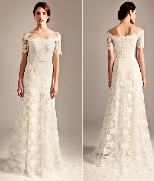 Khảo giá váy cưới ren yêu kiều - 4