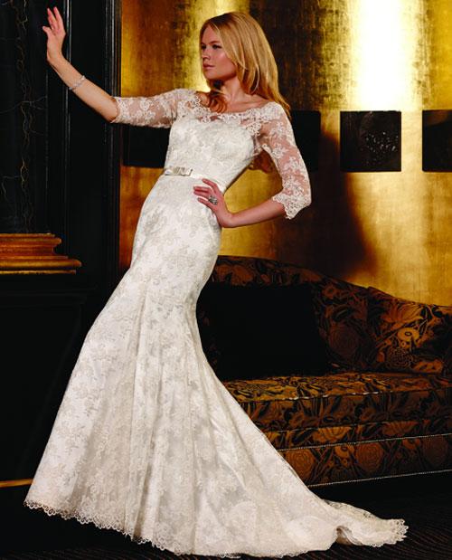 Khảo giá váy cưới ren yêu kiều - 6