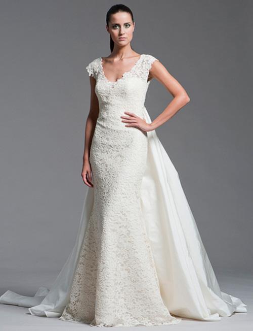 Khảo giá váy cưới ren yêu kiều - 7