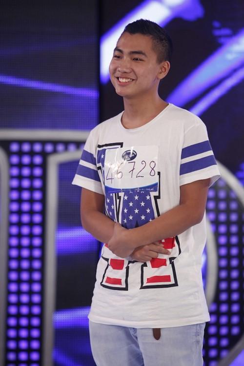 Quân Kun xuất hiện trong tập 2 Vietnam Idol - 3