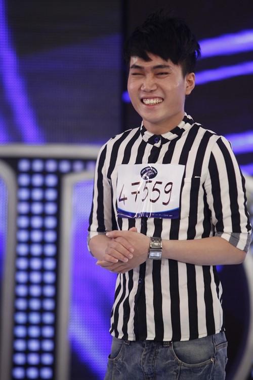 Quân Kun xuất hiện trong tập 2 Vietnam Idol - 1