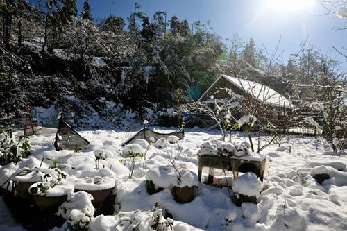 Những hình ảnh đẹp nhất về Sapa mùa tuyết rơi - 5