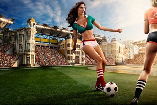 Mỹ nữ khoe vẻ bốc lửa trên thảm cỏ xanh - 4