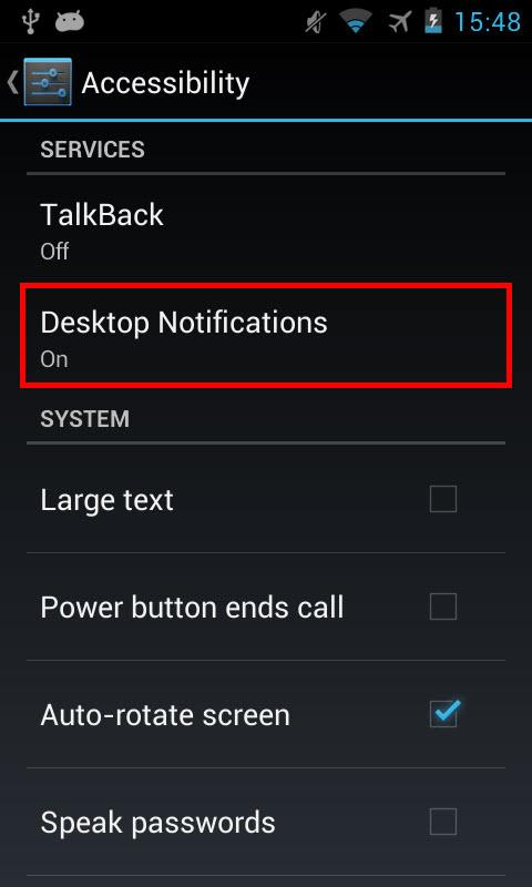 Cách nhận các thông báo trên smartphone Android từ máy tính - 2