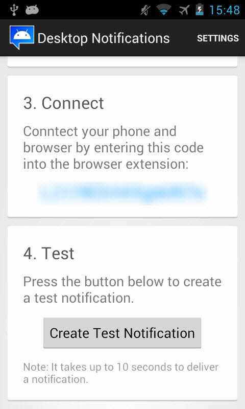 Cách nhận các thông báo trên smartphone Android từ máy tính - 1