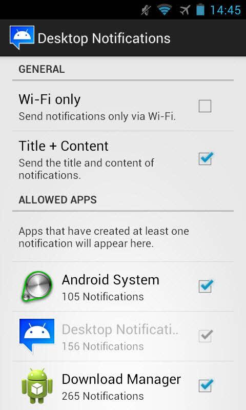 Cách nhận các thông báo trên smartphone Android từ máy tính - 4