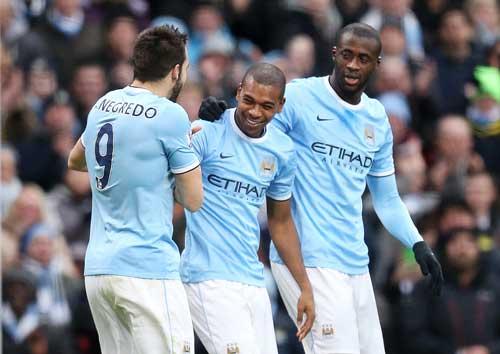 Vô địch lượt đi NHA: Cờ đến tay Man City - 2