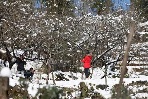 Những hình ảnh đẹp nhất về Sapa mùa tuyết rơi - 7