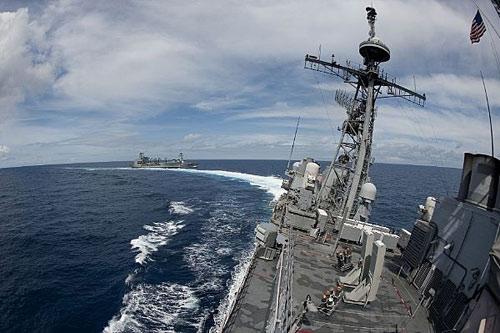 """Mỹ chỉ trích hải quân TQ """"vô trách nhiệm"""" - 2"""