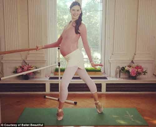Mang thai 39 tuần tuổi, vẫn say mê múa ballet - 3