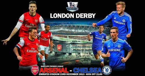 Derby Arsenal – Chelsea: Cán cân ở giữa - 2
