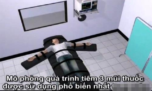 Quy trình tiêm thuốc độc vào tử tù ở Việt Nam - 1