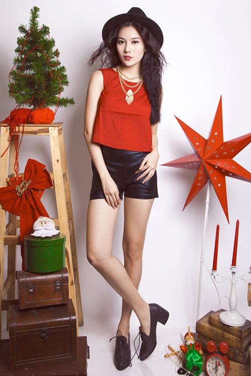 Mẹo cho thiếu nữ Việt nổi bật mùa Giáng sinh - 1