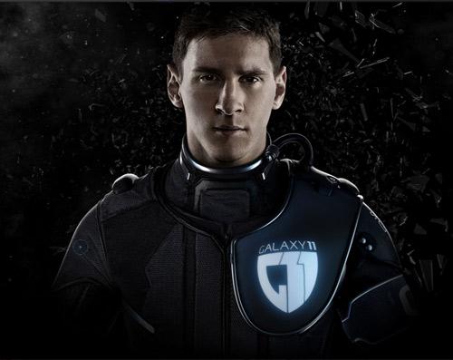 """Ronaldo, Messi vào """"biệt đội bóng đá Galaxy"""" - 2"""