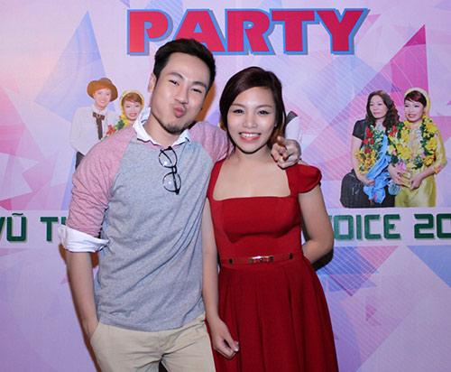 Quán quân The Voice 2013 mở tiệc lớn - 12