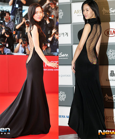 Những chiếc váy xuyên thấu đau tim nhất 2013 - 5