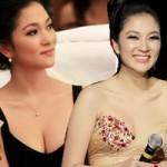 Thời trang - Khoe ngực đầy khéo như Nguyễn Thị Huyền