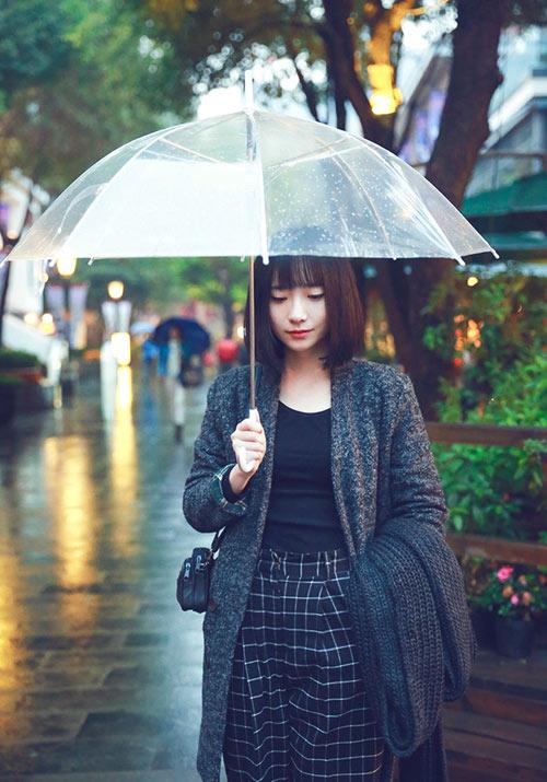 Cô gái Á rạng rỡ trong không khí lạnh giá - 6