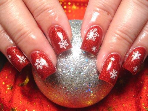 Nail xinh cho mùa Giáng sinh an lành - 5