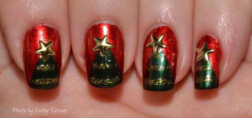 Nail xinh cho mùa Giáng sinh an lành - 7