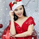 Ca nhạc - MTV - Hải Băng đỏ rực gợi cảm đón Noel