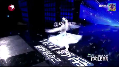 """Kinh ngạc múa """"ảo thuật"""" China Got Talent - 3"""