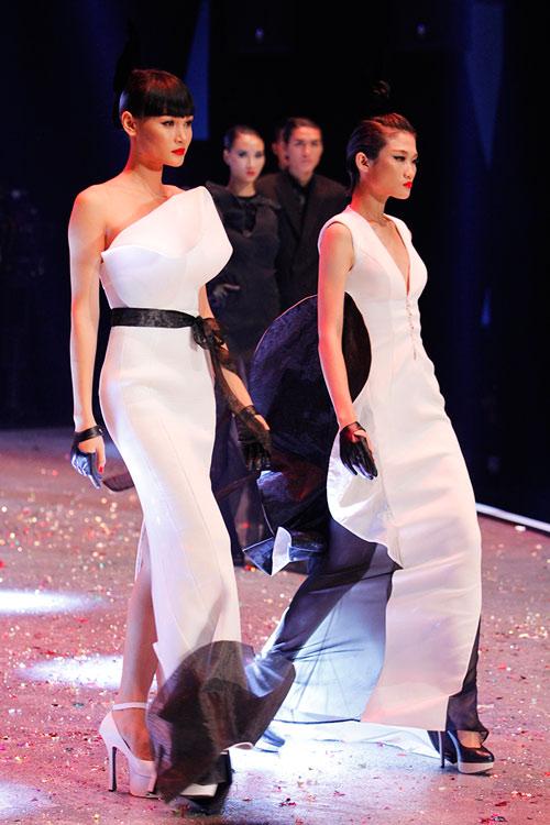 Dàn Top Model hội ngộ trong đêm chung kết - 11